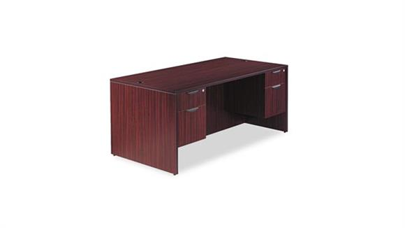 "Executive Desks Alera 72"" Double Pedestal Desk"