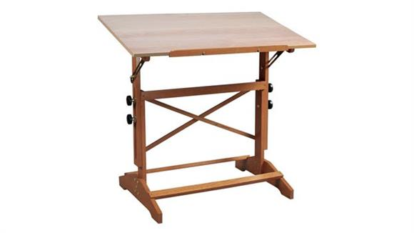 "Drafting Tables Alvin 24"" X 36"" Wood Art and Drawing Table"