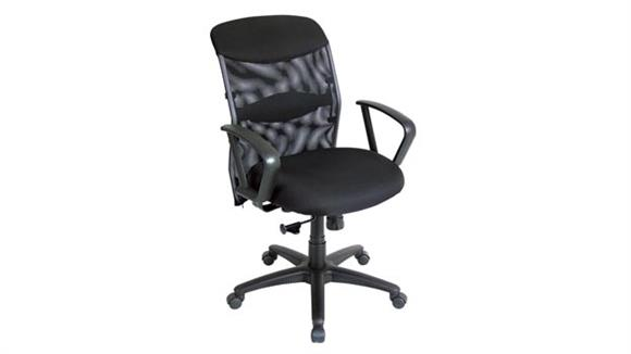 Office Chairs Alvin Salambro Mesh Back Managers Chair