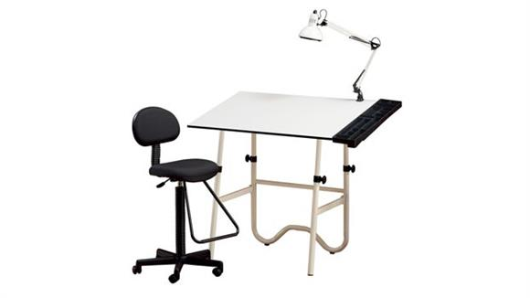 Drafting Tables Alvin 4 Piece Creative Center Drafting Set