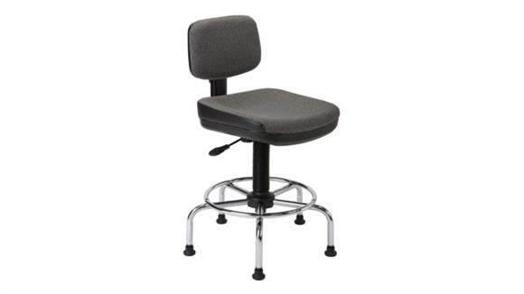 Drafting Stools Alvin Utility Stool with Backrest