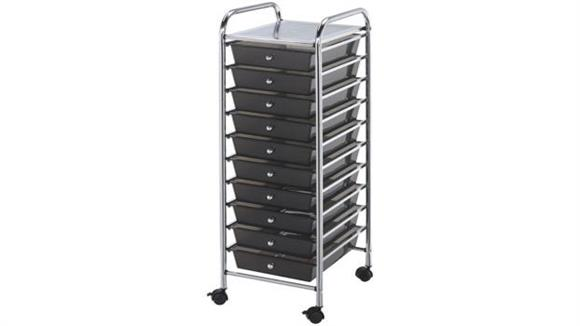 Utility Carts Alvin Ten Drawer Storage Cart