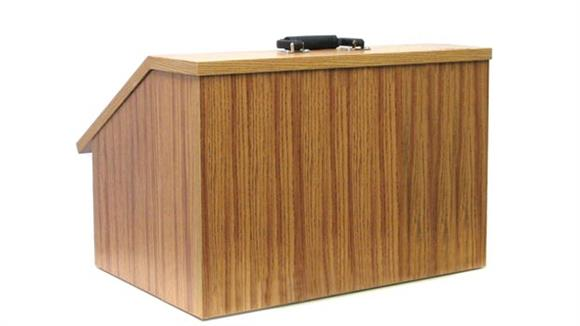 Podiums & Lecterns Amplivox Folding Tabletop Lectern