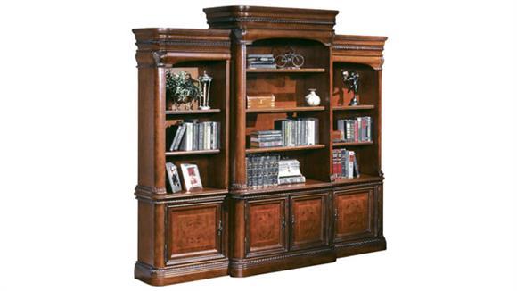 Bookcases Aspen Home Triple Wide Bookcase