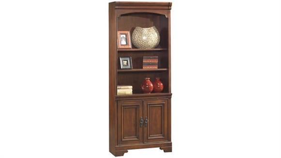 """Bookcases Aspen Home 80""""H Bookcase with Doors"""