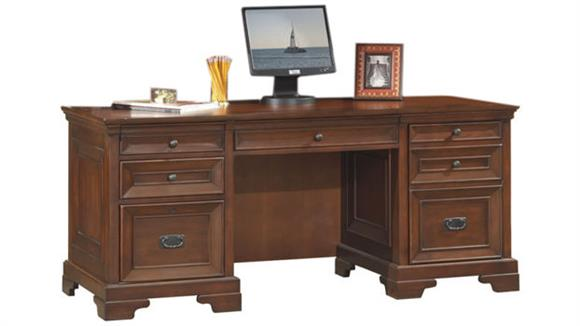 "Executive Desks Aspen Home 66"" Executive Desk"