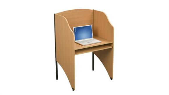 School Desks Balt Deluxe Floor Carrel
