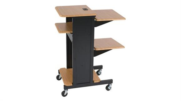 AV Carts Balt Presentation Cart with Optional Bottom Shelf