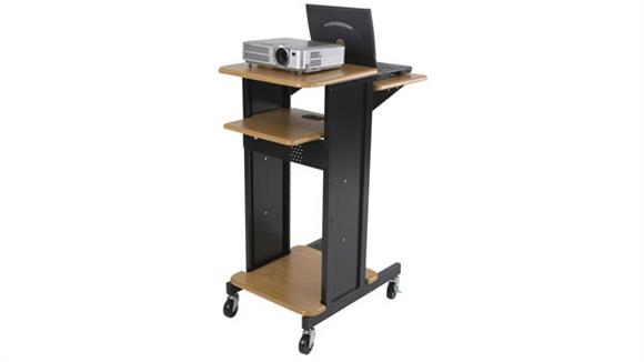 AV Carts Balt Presentation Cart with Electrical Assembly