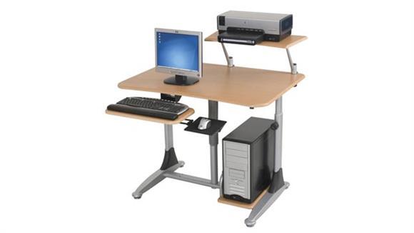 Computer Carts Balt Ergo E. Eazy Computer Workstation