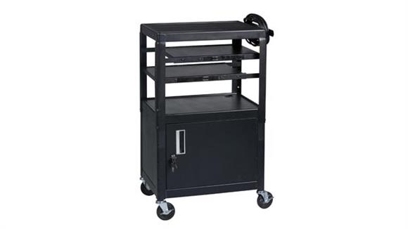 Computer Carts Balt Dual Adjustable Laptop Cart