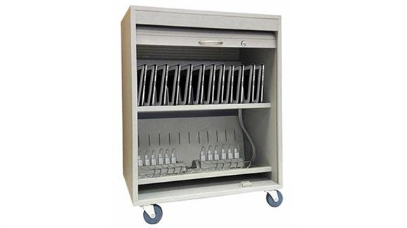Computer Carts Buddy Products Tablet Security Cart