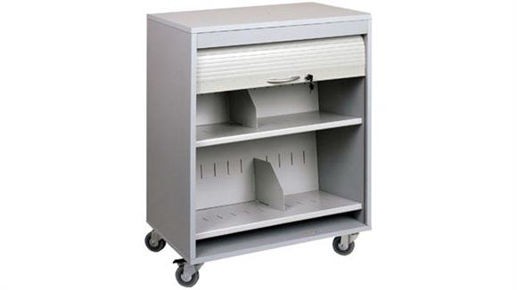 Mobile File Cabinets Buddy Products Locking HIPPA Medical Cart