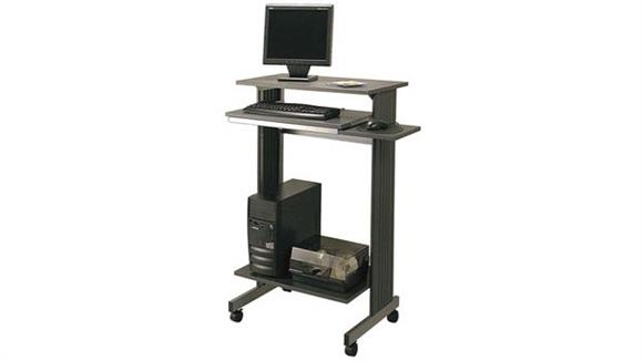 Computer Carts Buddy Products Stand Up Height Workstation