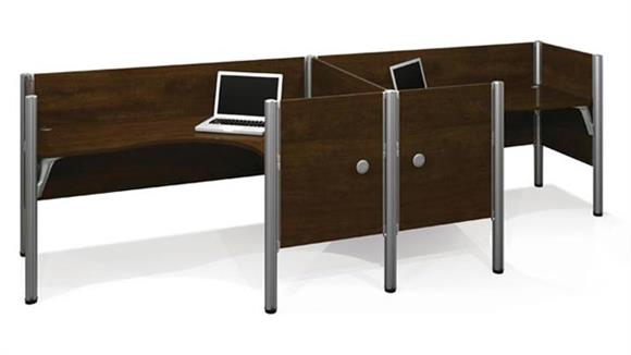 Workstations & Cubicles Bestar Office Furniture Double L Shaped Workstation