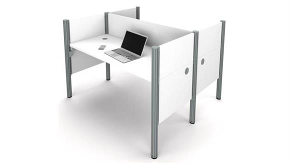 Workstations & Cubicles Bestar Office Furniture Double Face to Face Workstation