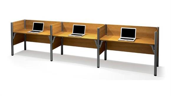 Workstations & Cubicles Bestar Office Furniture Triple Workstation