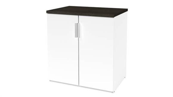 Storage Cabinets Bestar Office Furniture 2-Door Storage Unit