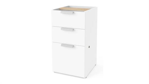 File Cabinets Vertical Bestar Office Furniture Pedestal File Cabinet