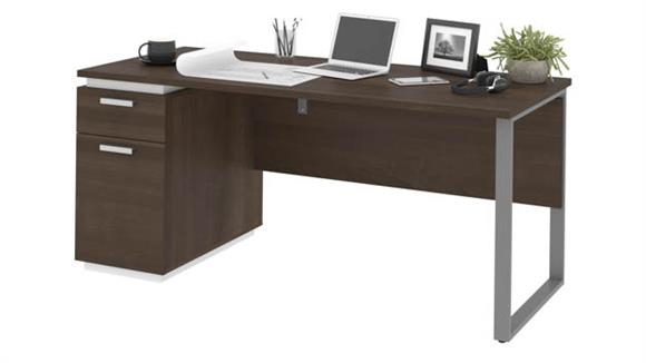 "Computer Desks Bestar Office Furniture 66""W Computer Desk"