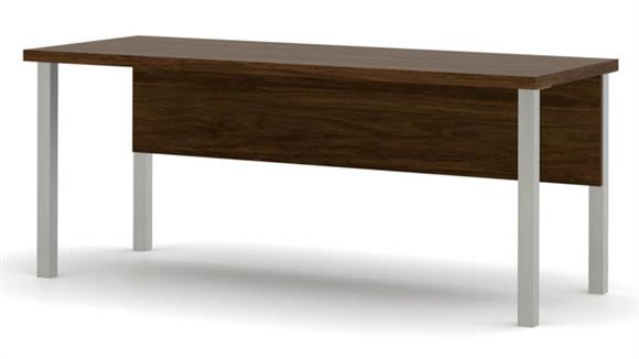 Executive Desks Bestar Office Furniture Table with Metal Legs