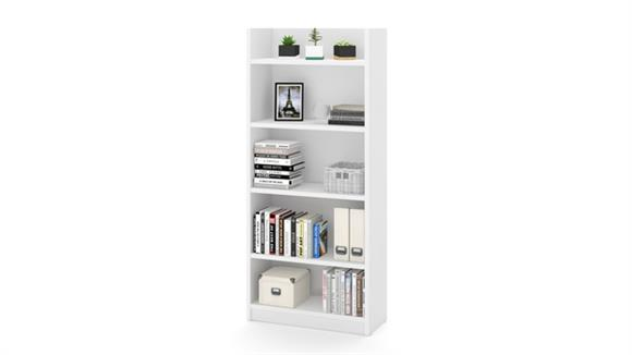 Bookcases Bestar Office Furniture 5 Shelf Bookcase