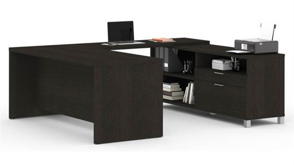 U Shaped Desks Bestar Office Furniture U-Desk