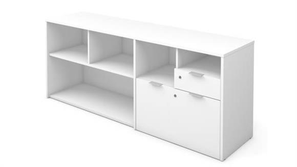 "Office Credenzas Bestar Office Furniture Credenza 71""W"