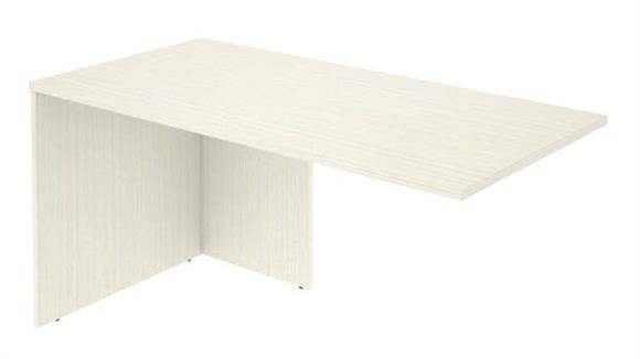 "Desk Parts & Accessories Bestar Office Furniture 59"" W Return Table"
