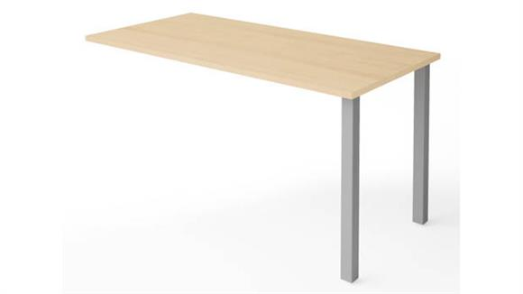 Desk Parts & Accessories Bestar Office Furniture Return Table with Metal Legs