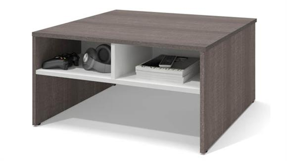"Coffee Tables Bestar Office Furniture 29.5"" Storage Coffee Table"