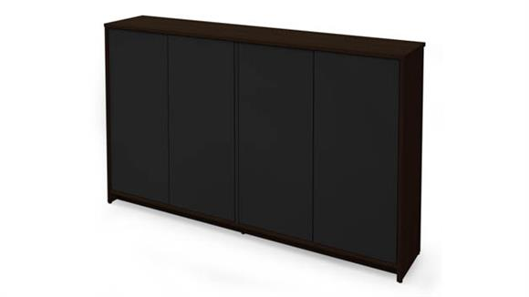 "Storage Cabinets Bestar Office Furniture 60"" Storage Unit"