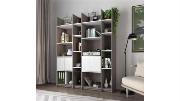 TV Stands Bestar Office Furniture Storage Wall Unit