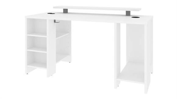 "Computer Desks Bestar Office Furniture 60""W Gaming Desk"