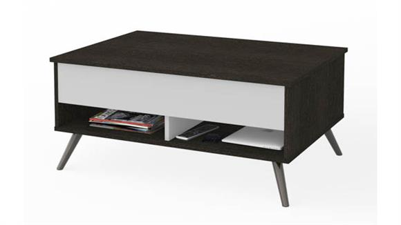 "Coffee Tables Bestar Office Furniture 37"" Lift-Top Storage Coffee Table"