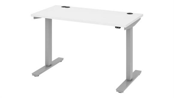 "Adjustable Height Desks & Tables Bestar Office Furniture 48""W x 24""D Standing Desk"