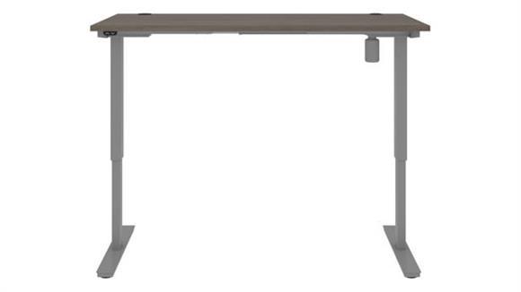 "Adjustable Height Desks & Tables Bestar Office Furniture 72""W x 30""D Standing Desk"