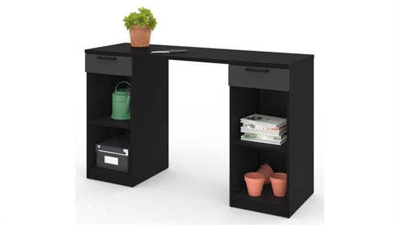 Benches Bestar Office Furniture 2-Drawer Workbench