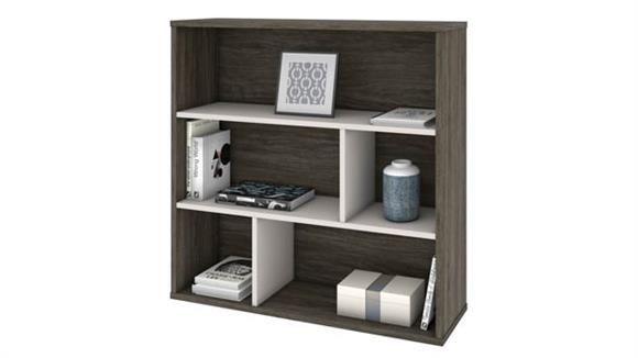 Storage Cabinets Bestar Office Furniture Asymmetrical Shelving Unit