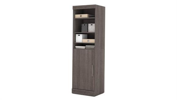 "Storage Cabinets Bestar Office Furniture 25"" Storage Unit with Door"