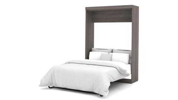 "Murphy Beds Bestar Office Furniture 59"" W Full Murphy Wall Bed"