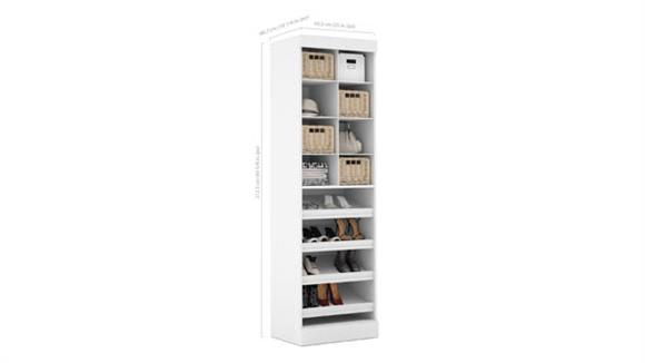 "Storage Cabinets Bestar Office Furniture 25"" Multi-Storage Cubby"