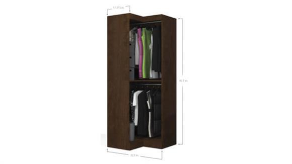 Storage Cabinets Bestar Office Furniture Corner Storage Unit