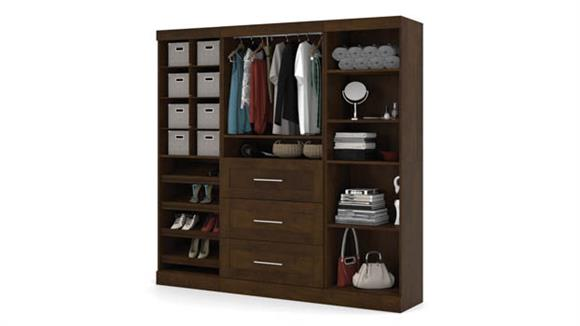 "Storage Cabinets Bestar Office Furniture 86"" Classic Kit"