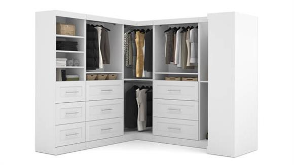 "Storage Cabinets Bestar Office Furniture 100"" Optimum Kit"