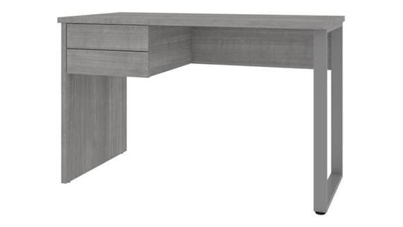 "Computer Desks Bestar Office Furniture 48"" W Table Desk with U-Shaped Metal Leg"