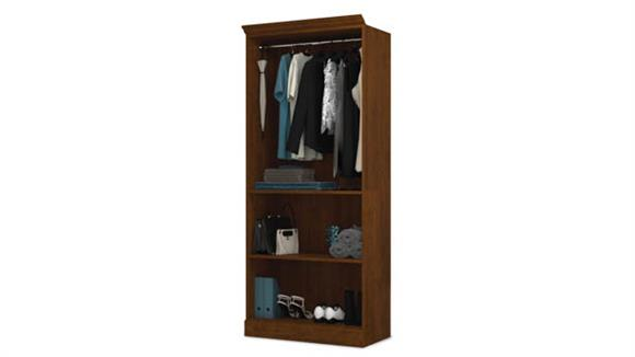 """Storage Cabinets Bestar Office Furniture 36"""" Closet Storage Shell"""