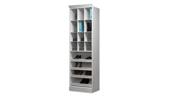 "Storage Cabinets Bestar Office Furniture 25"" Cubby Storage Unit"