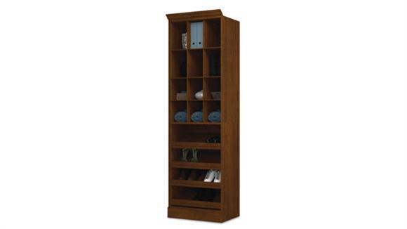 """Storage Cabinets Bestar Office Furniture 25"""" Cubby Storage Unit"""