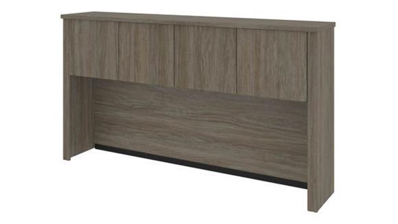 "Hutches Bestar Office Furniture Hutch for 66"" Credenza"